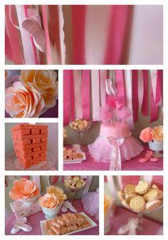 Ballerina birthday party full of DIY decor ideas!