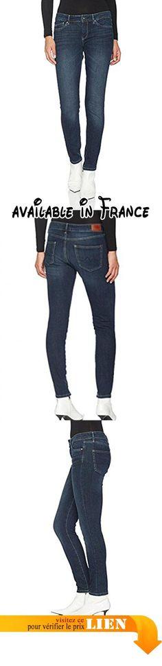 B06XTNSFZ6 : Pepe Jeans Pixie Jeans Femme Bleu (Denim CD6) FR : W44/L30 (Taille Fabricant:33).