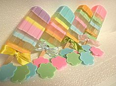 Popsicles...yum~yum..Beautiful Soaps for my kids