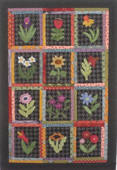 rogue quilter: Little Buds project from Primitive Gatherings