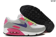 low priced 6b014 07107 Mujeres Nike Air Max 90 GrisBlancoRosa Claro Air Max 90, Nike