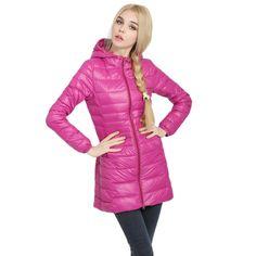 c688c5f5eb3 Winter Long Coat Women Down Coats Jackets Long Sleeve Chaqueta Mujer  Elegant Casual Clothes Plus Size
