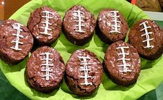 Create a football cookie cutter out of a reused can to make football themed desserts for your next tailgate party.