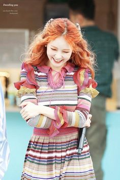 Hyuna smile