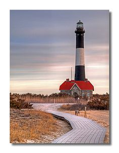 Fire Island Lighthouse    		Fire Island National Seashore - Long Island, NY