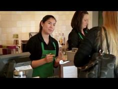 I like the smile portion towards the end of people who have spoken   What It's Like to be a Starbucks Partner - YouTube