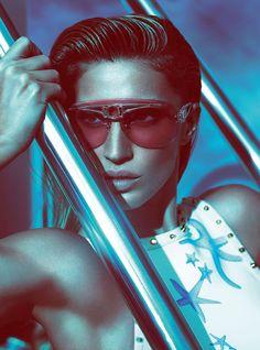 Versace Women's Spring Summer 2012 Advertising Campaign - Gisele Bündchen #versace