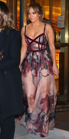 Look of the Day - Jennifer Lopez - from InStyle.com