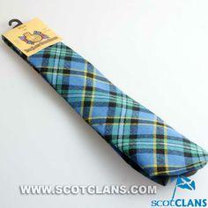 Clan Weir Tartan Wool Tie
