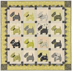 Love this pattern My Mom made me a baby quilt 50 years ago that was the same pattern just different fabrics .It brings back great memories.