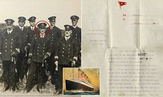 Bravery of doomed Titanic crew laid bare in newly discovered account