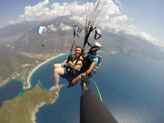 "Photo of the Day!  Paradise from above. ""The view over the bay of Ölüdeniz, the mountains, and the national park was simply breathtaking."" Photo by Burak Tuzer. #GoPro #paragliding #GoProTravel"