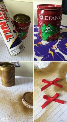 Ideias para reciclar potes de vidro e latinhas de alimentos - Casinha Arrumada