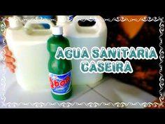 AGUA SANITARIA CASEIRA/ TIRA O AMARELO DA ROUPA BRANCA - TD Simples & Natural/ Elisangela Evaristo - YouTube