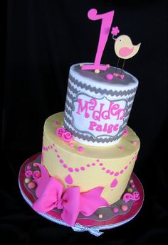 Chevron Cake Tutorial - SugarEd Productions