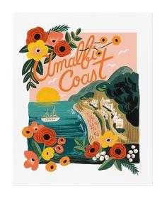 Affiche Amalfi Cost - Atomic Soda - Visuel 1