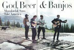God, Beer & Banjos: Mumford & Sons Take America Music Tv, Music Lyrics, Music Stuff, Kinds Of Music, Music Is Life, Marcus Mumford, Mumford Sons, A Well Traveled Woman, Awake My Soul