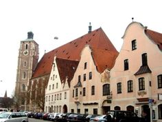 Ingolstadt Beautiful Architecture, Great Places, Austria, Switzerland, Places To Visit, Louvre, Germany, Building, Nature