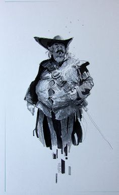 A. Riabovitchev: Characters... drawings... markers