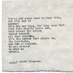 "Tyler Knott Gregson on Instagram: ""Typewriter Series #1904 by Tyler Knott Gregson ... Check out my Chasers of the Light Shop! chasersofthelight.com/shop"""