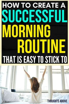 Before reading this post, I had problems with creating a morning routine before work. But after reading this amazing article, I have come up with ideas on how I can create a healthy morning routine that I can stick to finally. Morning routine checklist  morning routine for women  morning routine for adults.#routine #morning #checklist #morningchecklist #monday #organisation