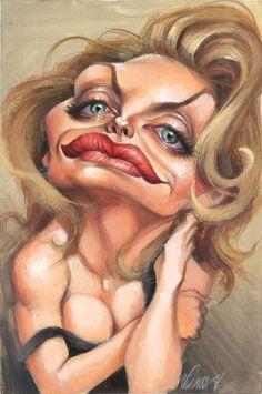 [ Michelle Pfeiffer ] - artist: Joan Vizcarra - website: http://www.vizcarra.info