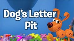 Dog's Letter Pit | WordWorld | PBS KIDS Vocabulary Games | Jump in to Dog's letter pit to find letters!