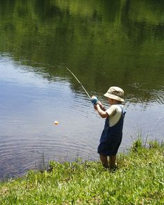 Awesome to see kids fishing at such a young age!!.. Check us out at www.bestbuddyfishing.com