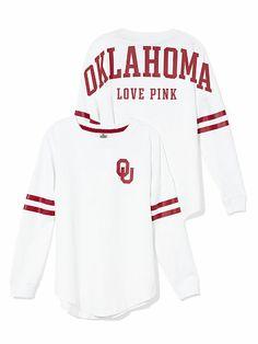 University of Oklahoma Varsity Crew PINK