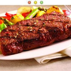 32 - 6 oz. Organic Grass-Fed New York Strip Steaks By Sommers Organic, NEW $159.99