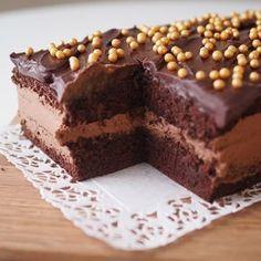 Mokkasuklaakakkua rakkaudella | Kulinaari