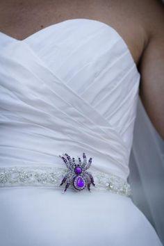 For a Halloween wedding - so cute!