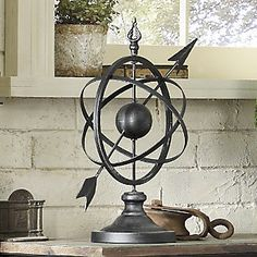 Armillary Sphere | A true conversation piece, inspired by ancient Greek astronomy.