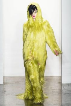 This happened. Jeremy Scott Fall 2013
