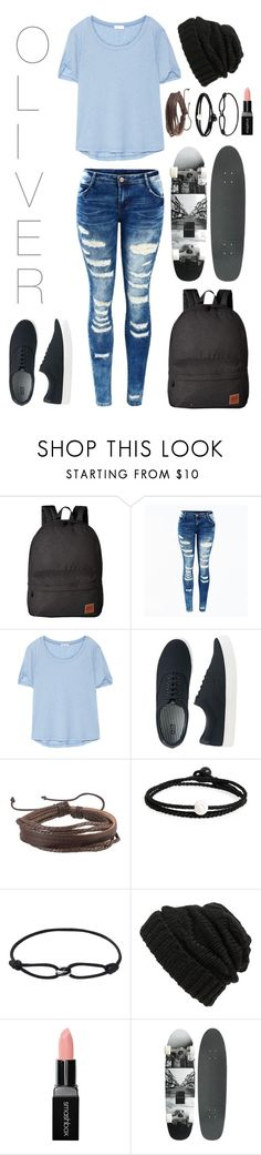 """""""Untitled #59"""" by teabag0 ❤ liked on Polyvore featuring Vans, Splendid, Uniqlo, Zodaca, Lokai, Leith, Smashbox, StreetStyle, BackToSchool and outfit"""