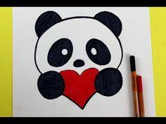 Dessin De Panda Facile comment dessiner un panda kawaii amour Étape par Étape - youtube