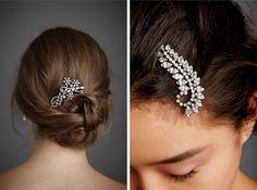 Shine Trim: Wedding DIY Inspiration: Rhinestone Hair Clip