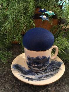 Midnight Blue Pincushion | Painted Heart Market
