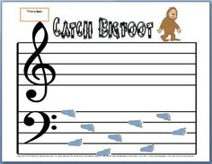 Bass Clef Notes Worksheet