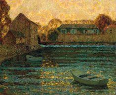 by Henri Le Sidaner (Fr., 1862-1939)