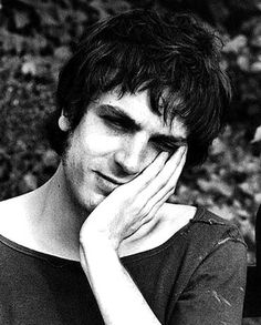 Syd Barrett, former founding member of Pink Floyd. Picture links to an article about his passing at age 60 in 2006.