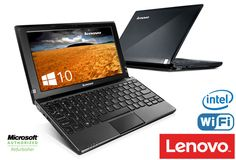 "Lenovo 10.1"" IdeaPad with Intel Processor, 2GB RAM, 160GB Hard Drive, Webcam, Wi-Fi, Windows 10  #plugsterpintowin"