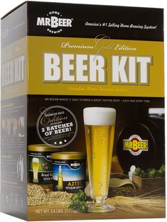 These Homemade Beer Brewery Making Kits make the perfect gifts for Fathers Day, Christmas or as a birthday present! Start your shopping for ...