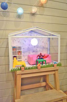 Socker Dollhouse Ikea Hack