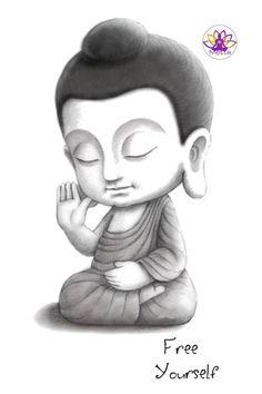 Buddha art,Buddha Quote,Buddha Image Disney Drawings Sketches, Drawing Sketches, Art Drawings, Buddha Quote, Buddha Art, Small Buddha Statue, Buddha Decor, Ganesha Painting, Minis