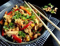 Stegte ris med kylling og grøntsager... - MADEN I MIT LIV!