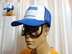 QUIKSILVER Surf Skate DIGGLER Blue Velvet Trucker Snapback cap hat one size NEW #Quiksilver #truckerhat