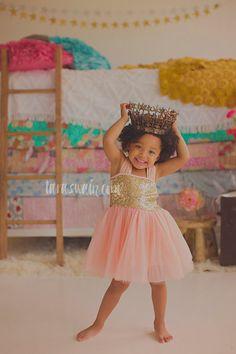 Flower girl dress, gold flower girl dress, baby dress, rustic girl dress, Pink flower girl dress, vintage flower girl, Pink gold dress, baby