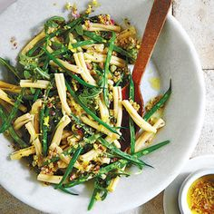 Lemon and shallots marry for a bright taste that's ideal for a ladies' lunch or light supper.