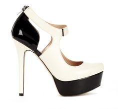#Black & #White #Mary #Jane #Pumps ♥